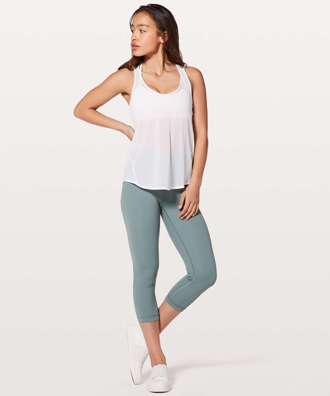 Lululemon Such A Cinch Tank - White