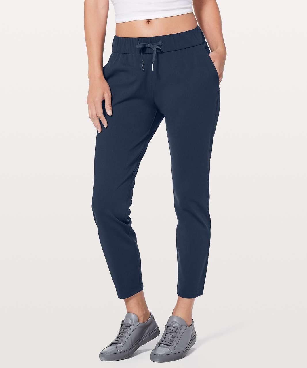 "Lululemon On The Fly Pant *28"" - True Navy (First Release)"