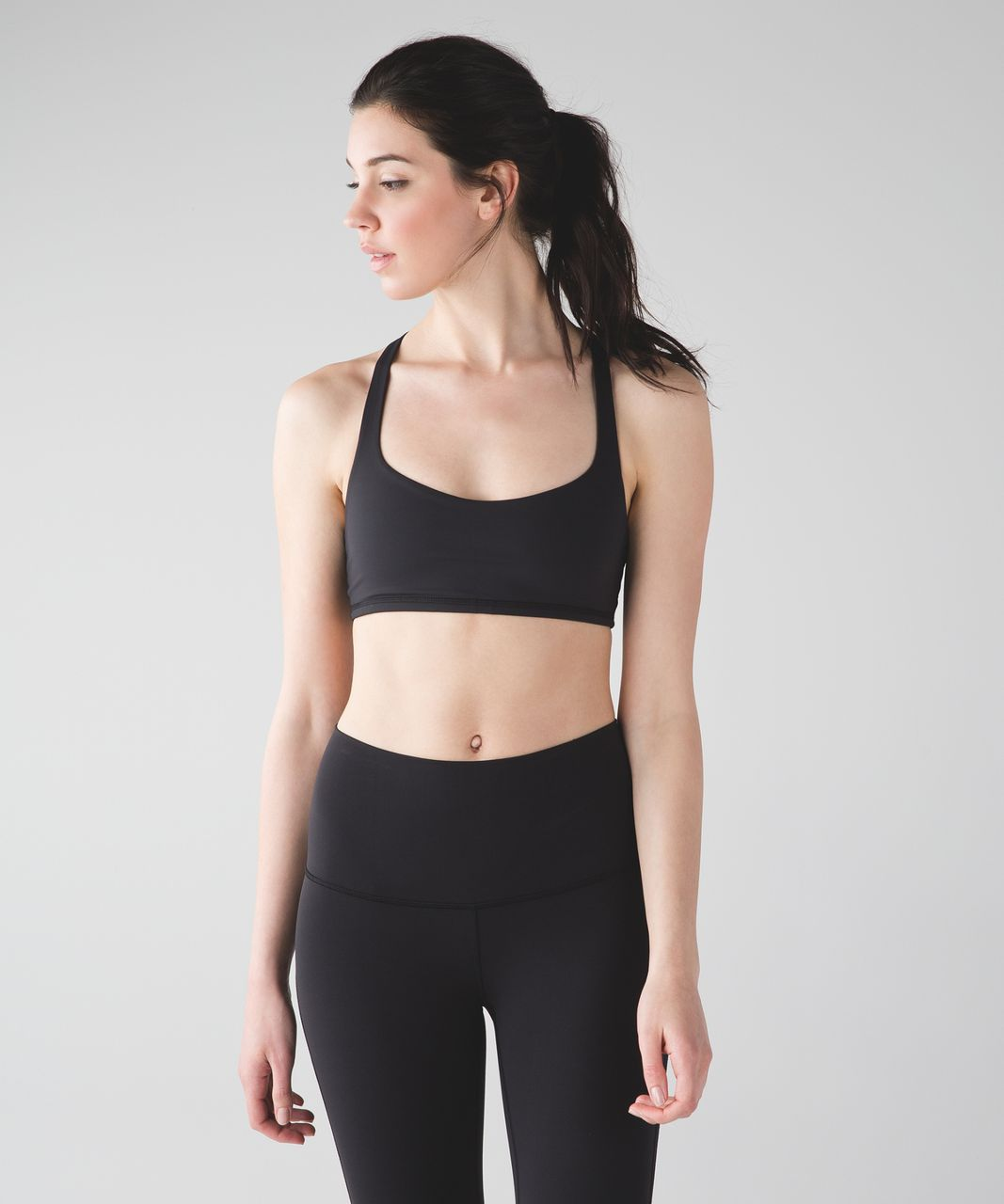 Lululemon Free To Be Bra Trinity - Black