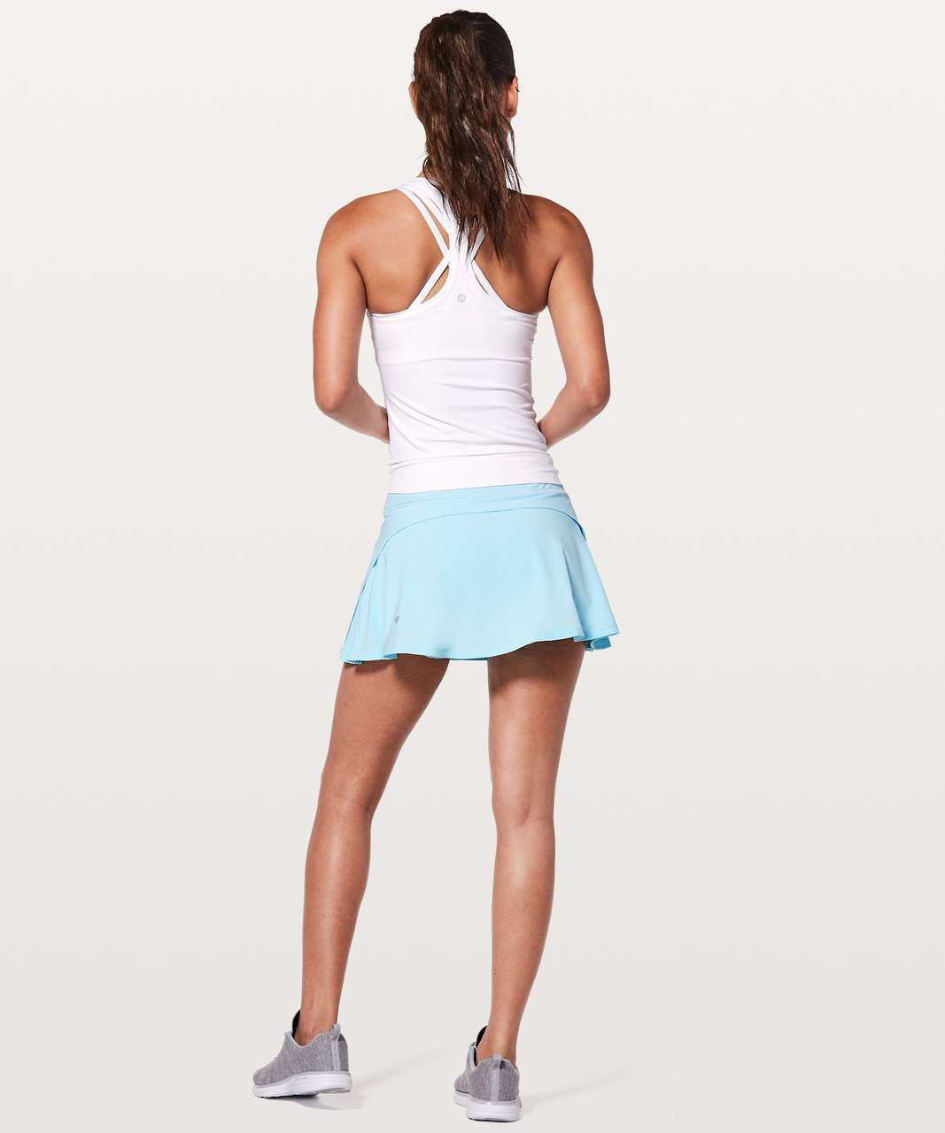 "Lululemon Play Off The Pleats Skirt *13"" - Blue Glow"
