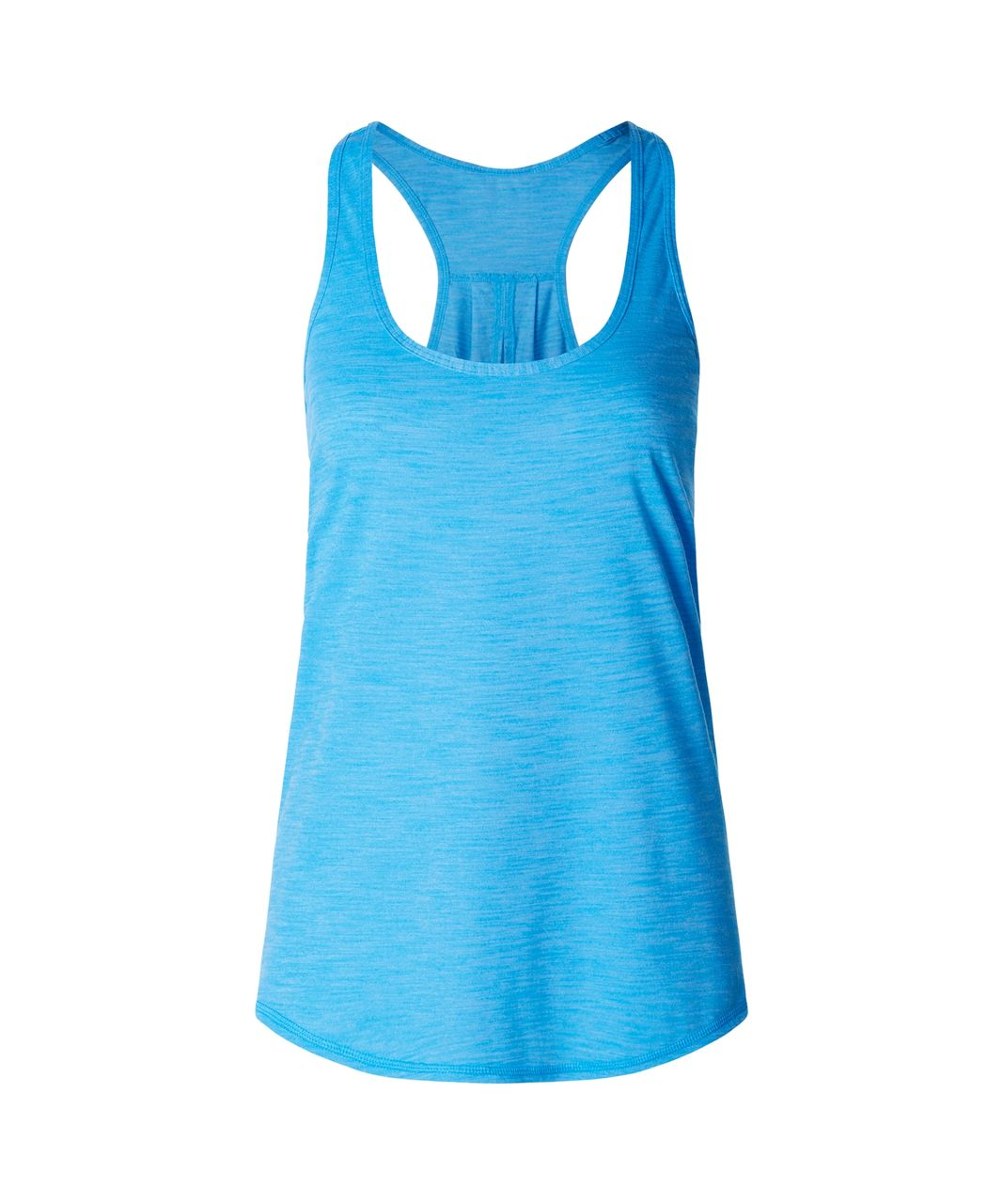 Lululemon Salute the Sun Singlet II - Heathered Kayak Blue