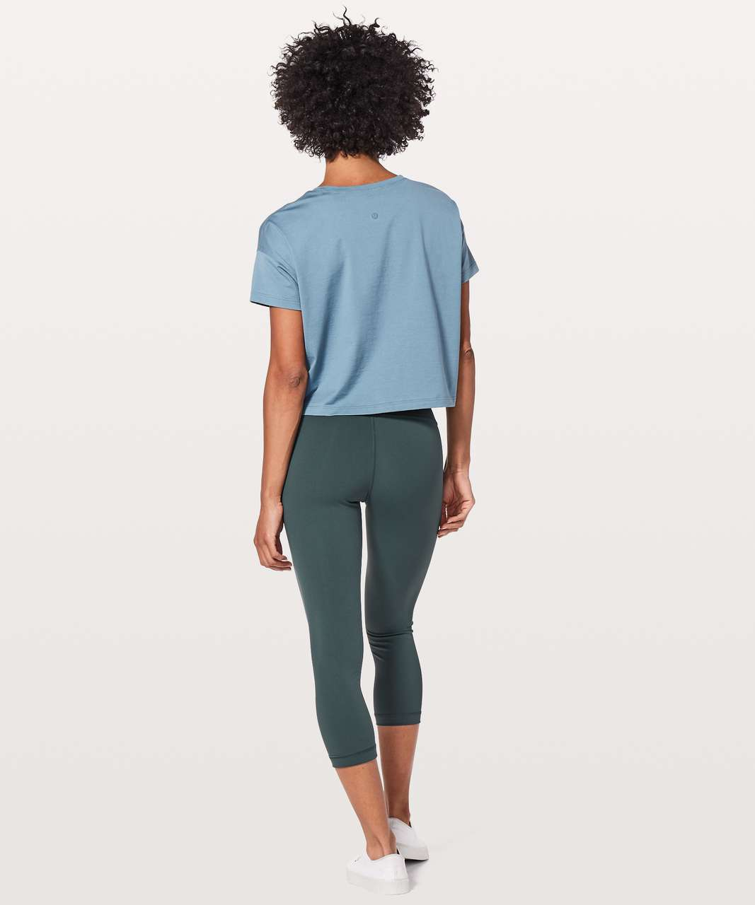 "Lululemon Wunder Under Crop (Hi-Rise) 21"" - Gravity"