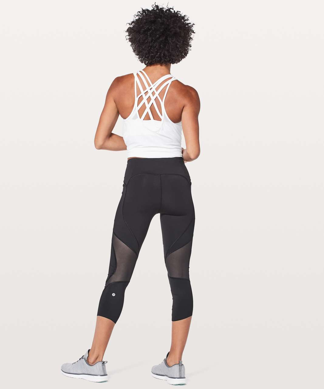 "Lululemon On Pace Crop *21"" - Black"