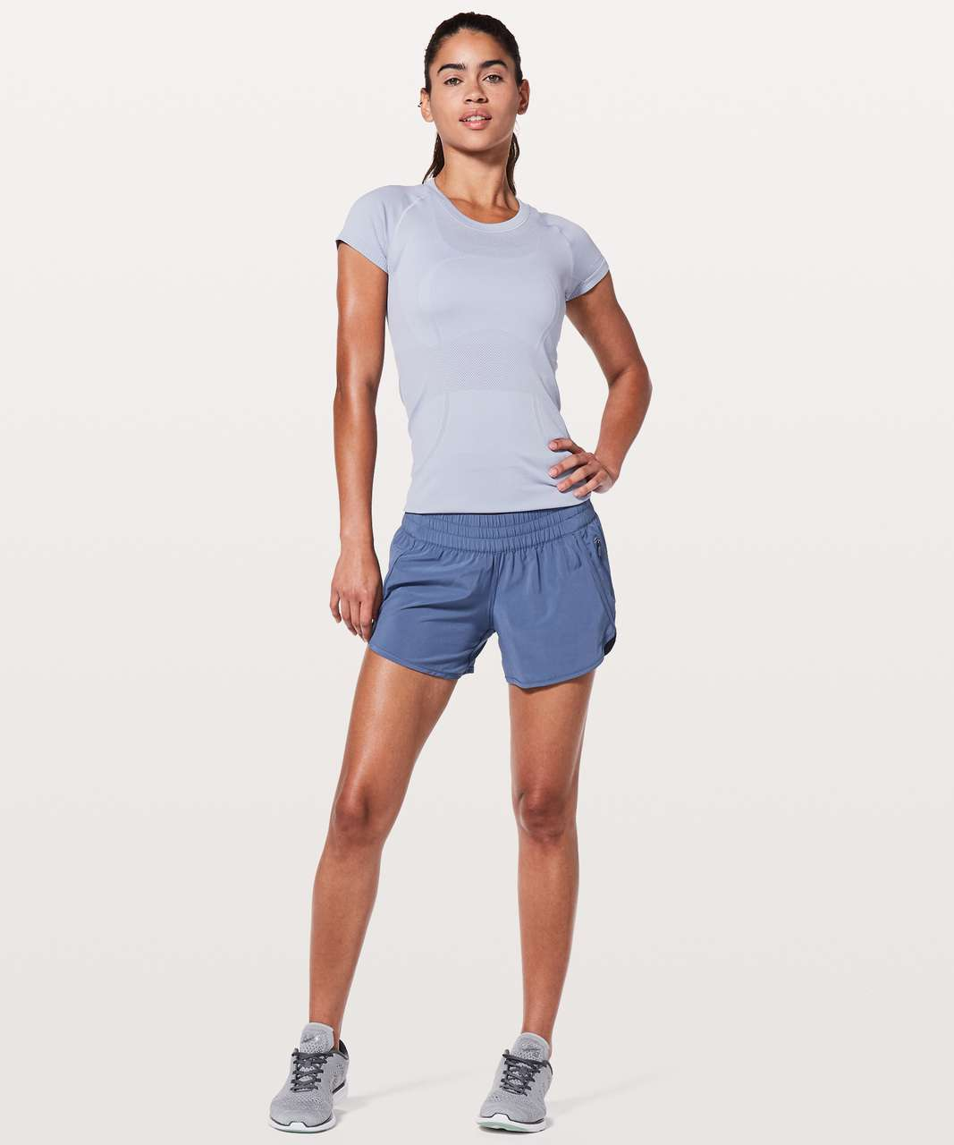 "Lululemon Tracker Short V *4"" - Brilliant Blue"