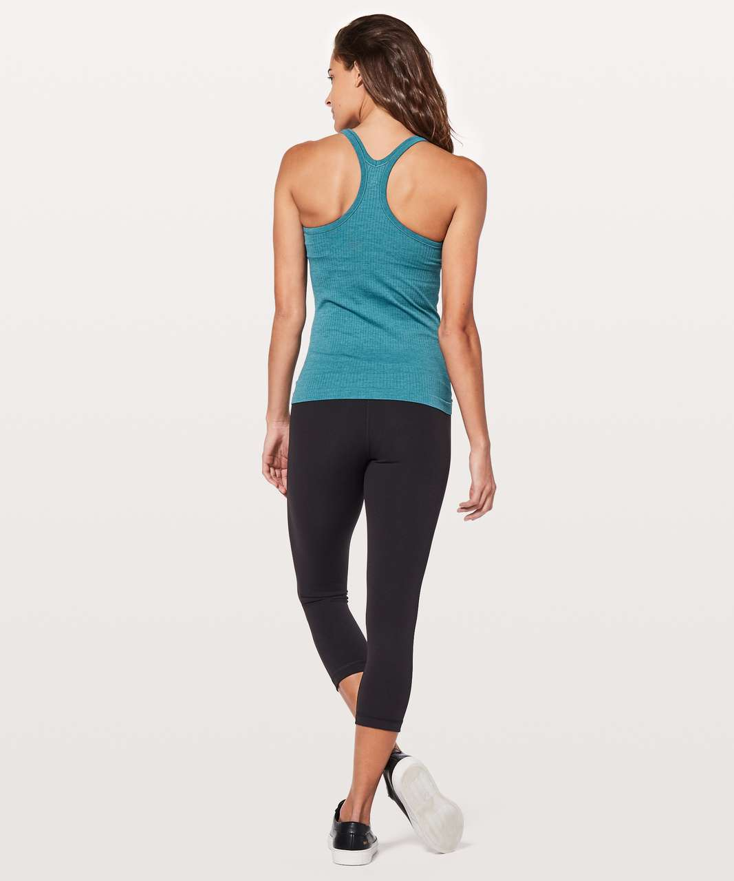 Lululemon Ebb To Street Tank II - Pacific Teal
