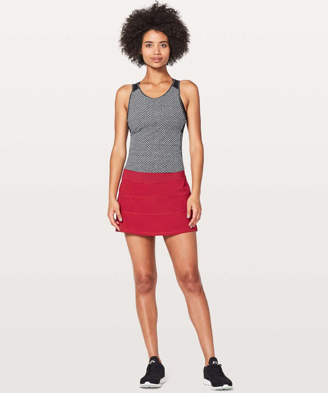 "Lululemon Pace Rival Skirt (Tall) *4-way Stretch 15"" - Scarlet"
