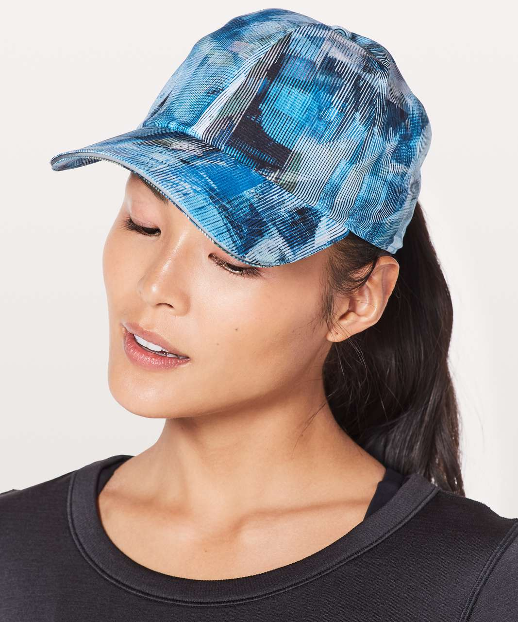 Lululemon Baller Hat Run - Sun Dazed Multi Blue