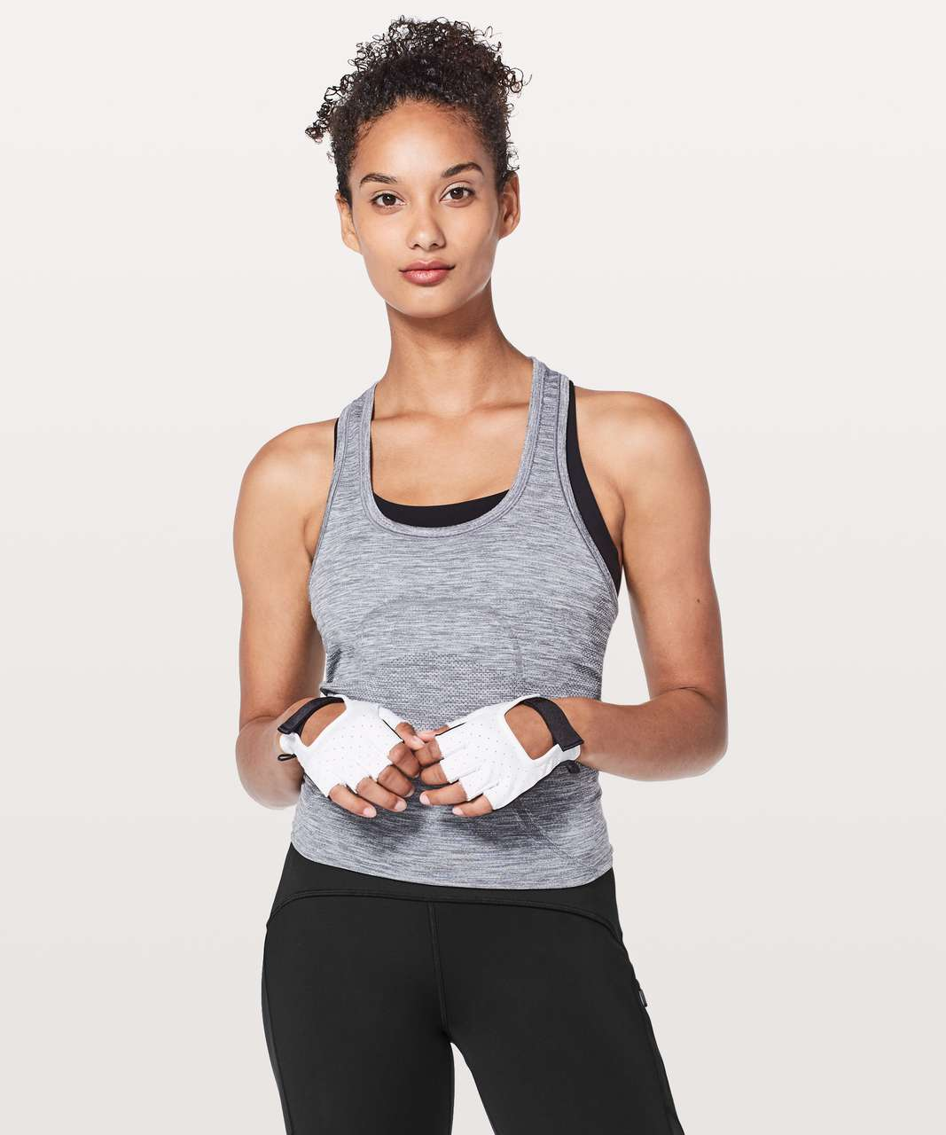 Lululemon Uplift Training Gloves - White / Black