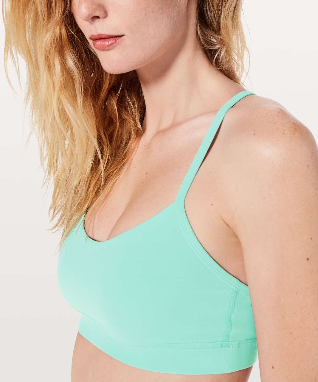 Lululemon Flow Y Bra *Nulu - Washed Marsh