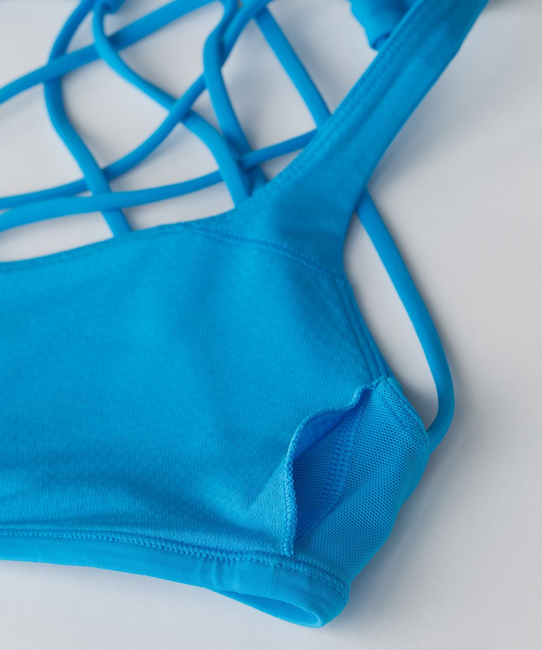 Lululemon Free To Be Bra (Wild) - Kayak Blue