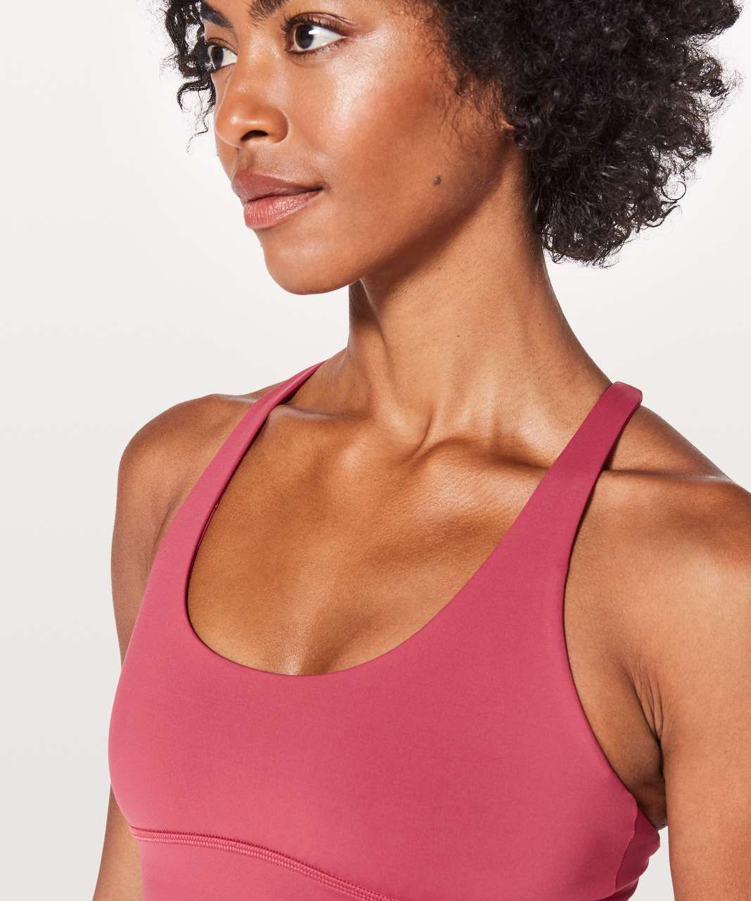 Lululemon Free To Be Moved Bra - Vintage Rose / Glossy