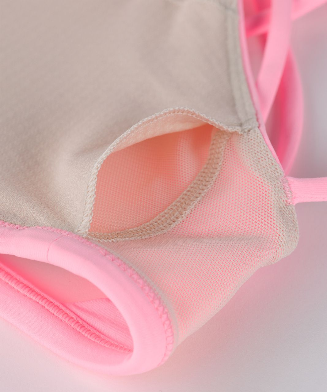 Lululemon Free To Be Bra (Wild) - Pink Shell