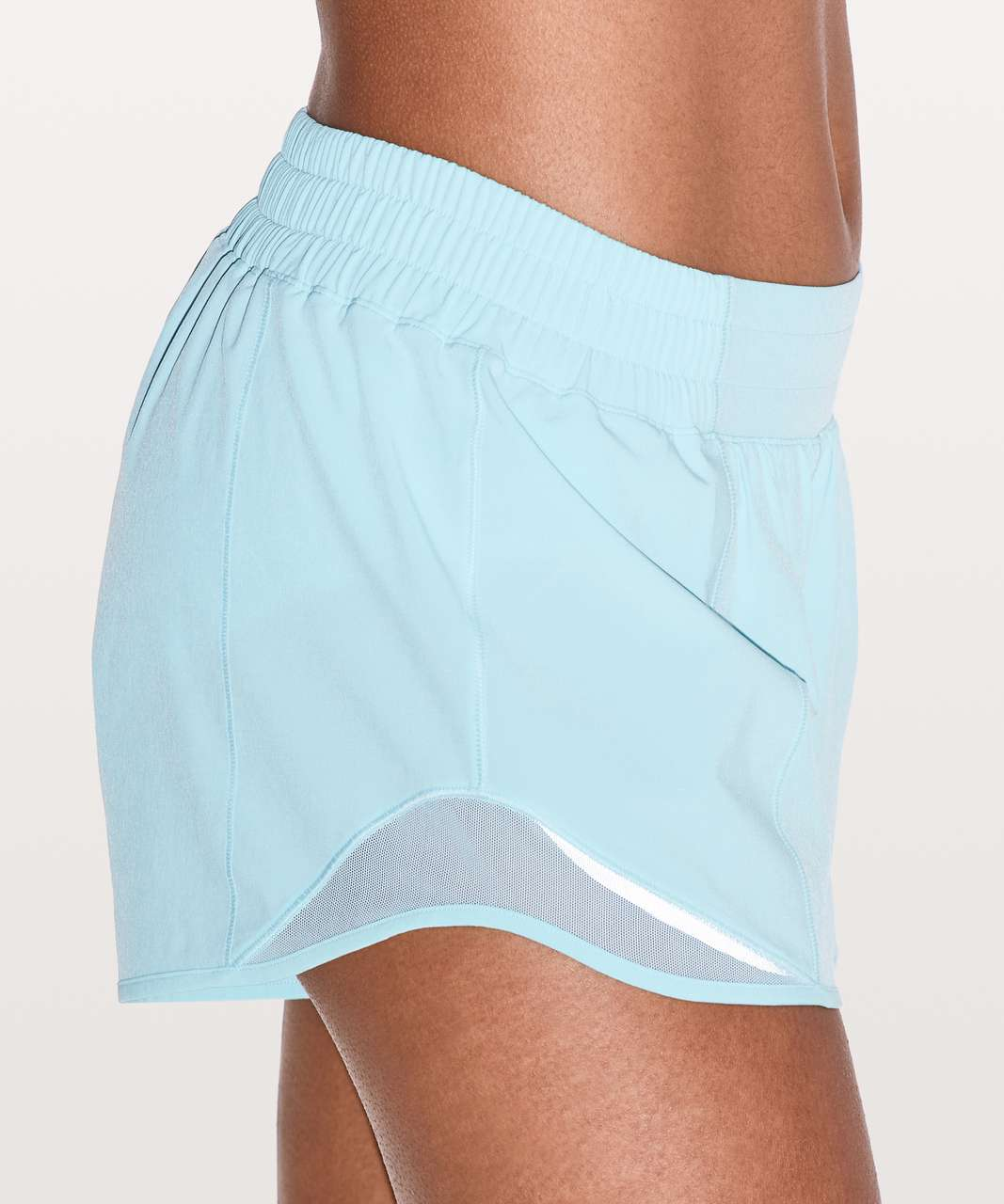 "Lululemon Hotty Hot Short II *Long 4"" - Blue Glow (First Release)"