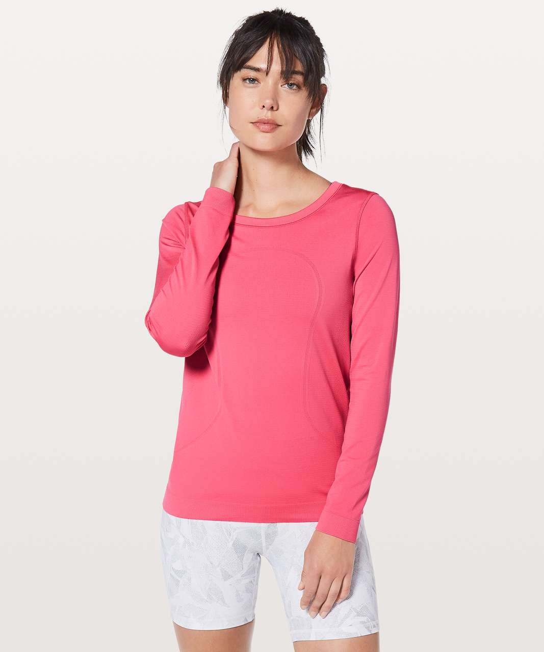 Lululemon Swiftly Tech Long Sleeve (Breeze) *Relaxed Fit - Glossy / Glossy