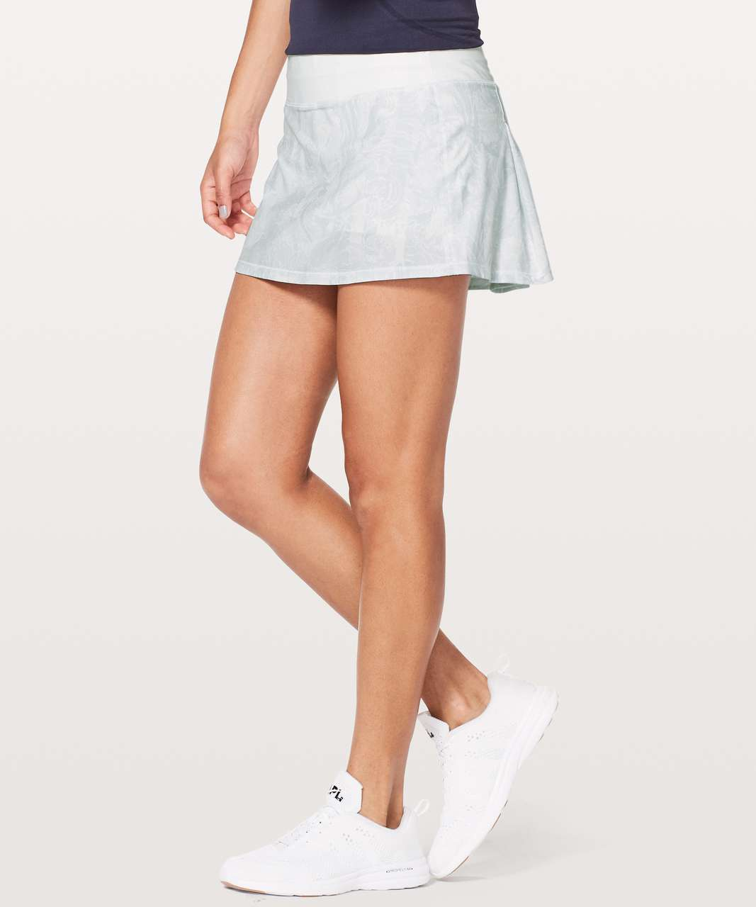 Lululemon Pace Rival Skirt (Regular) *No Panels - Eternal Wave White / White