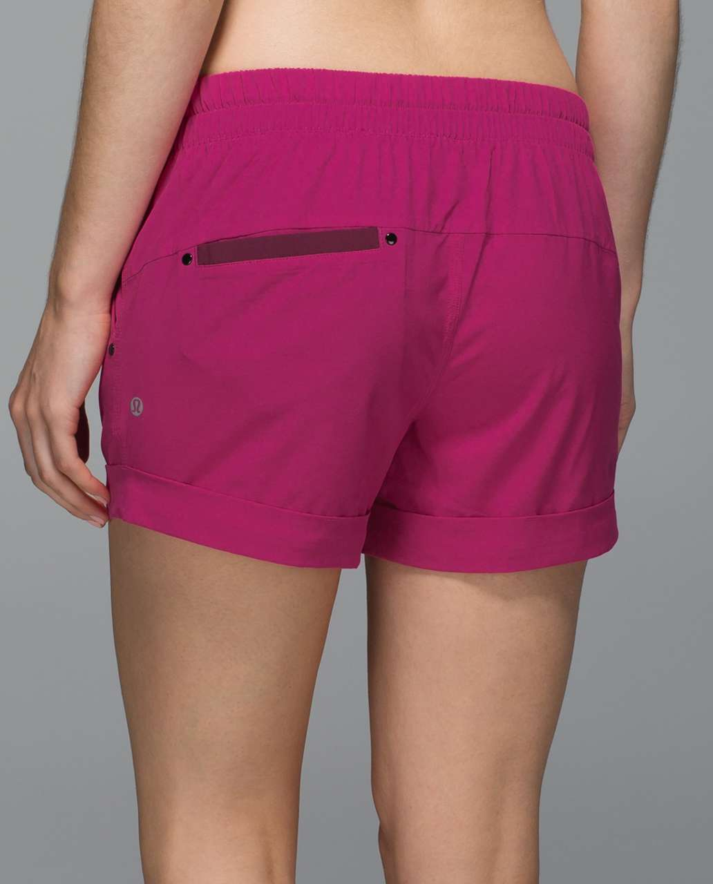 "Lululemon Spring Break Away Short *4-way Stretch 3"" - Jewelled Magenta"