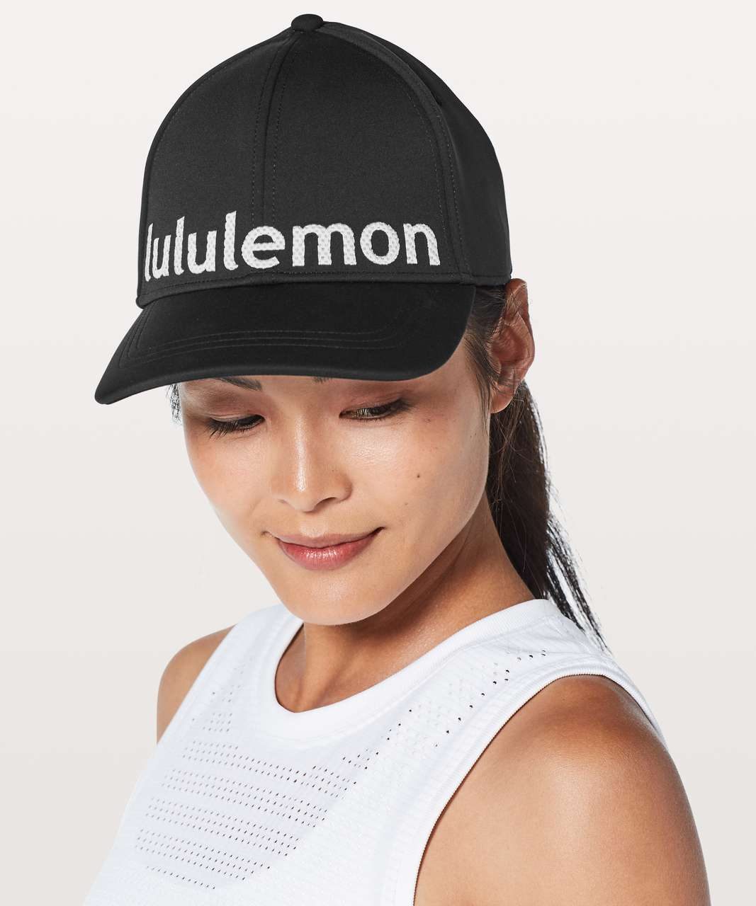 Lululemon Baller Hat *Squad - Black / White