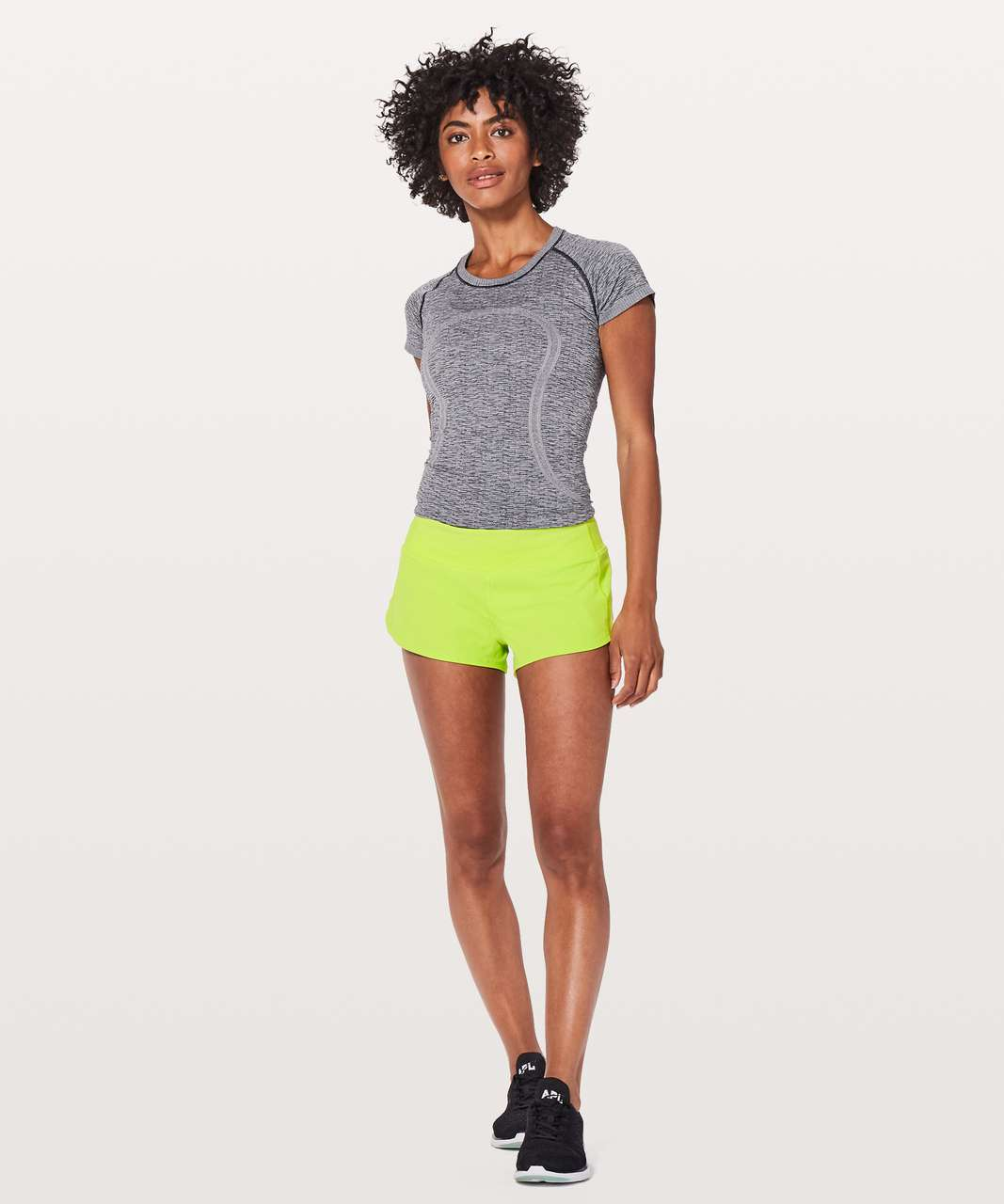 "Lululemon Speed Up Short *2.5"" - Lucid Lime"