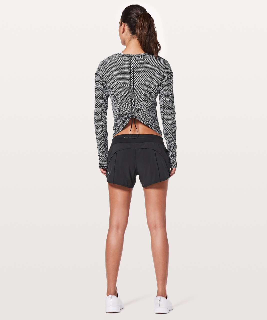 Lululemon On Pace Long Sleeve - Monochromic Black