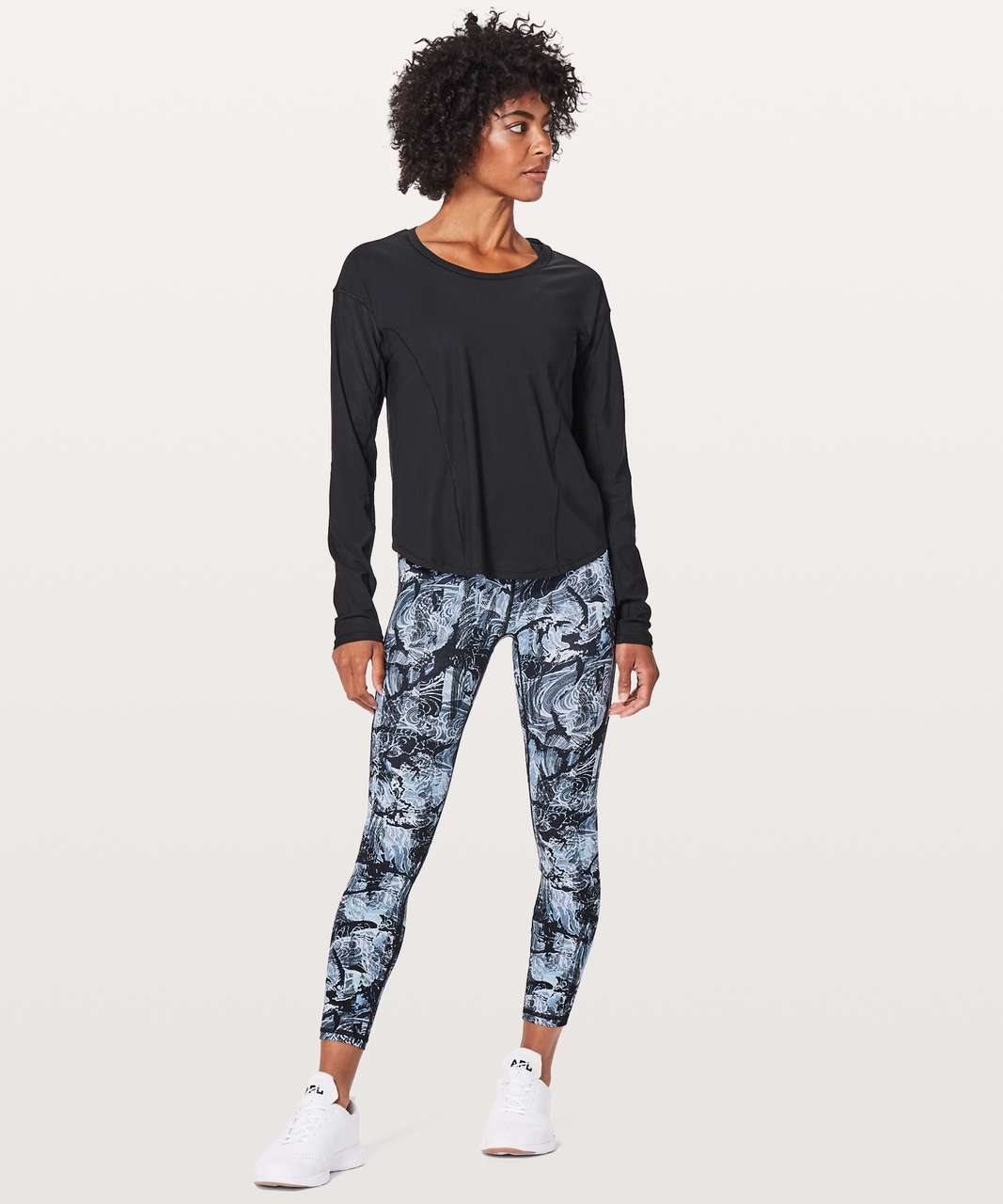 Lululemon On Pace Long Sleeve - Black