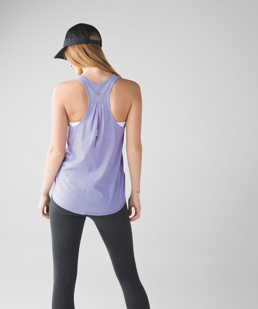 Lululemon Salute the Sun Singlet II - Heathered Lilac