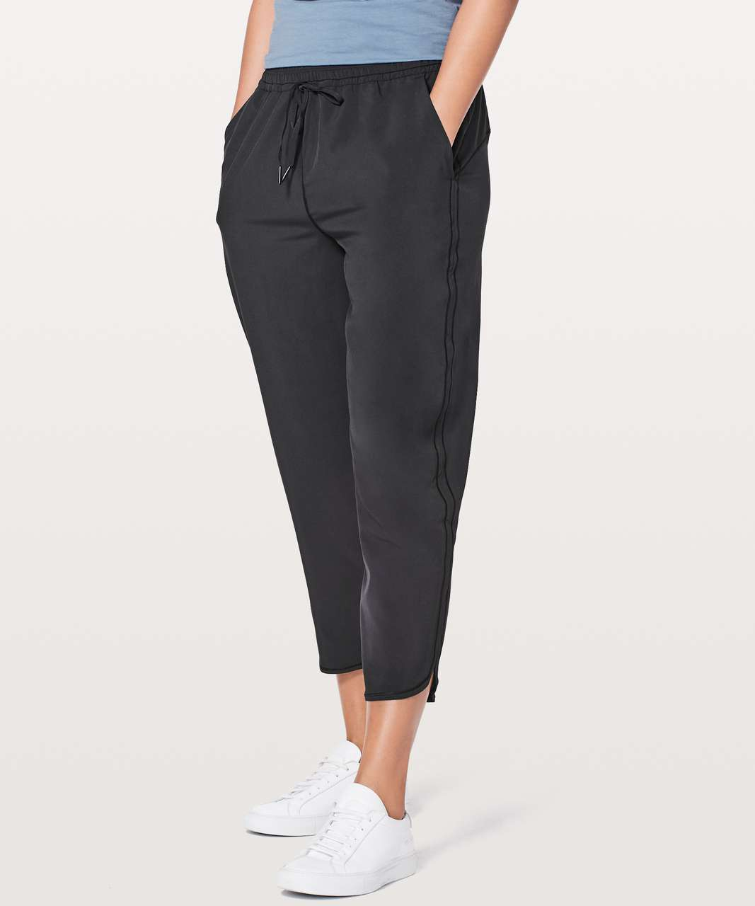 "Lululemon Keep It Classic Crop *23"" - Black"
