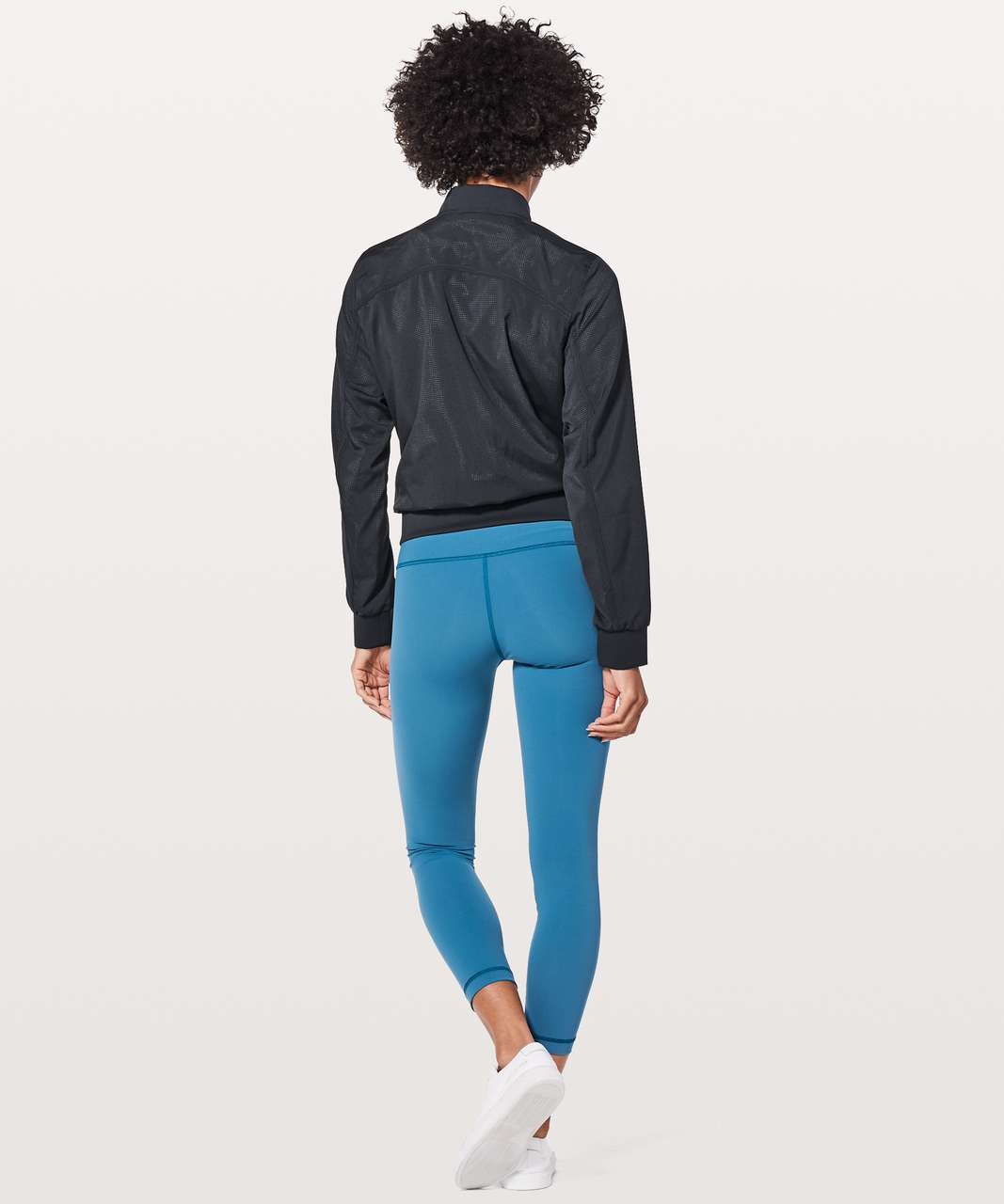 Lululemon Bomb Around Jacket *Reversible - Black Night / Sun Dazed Multi Blue