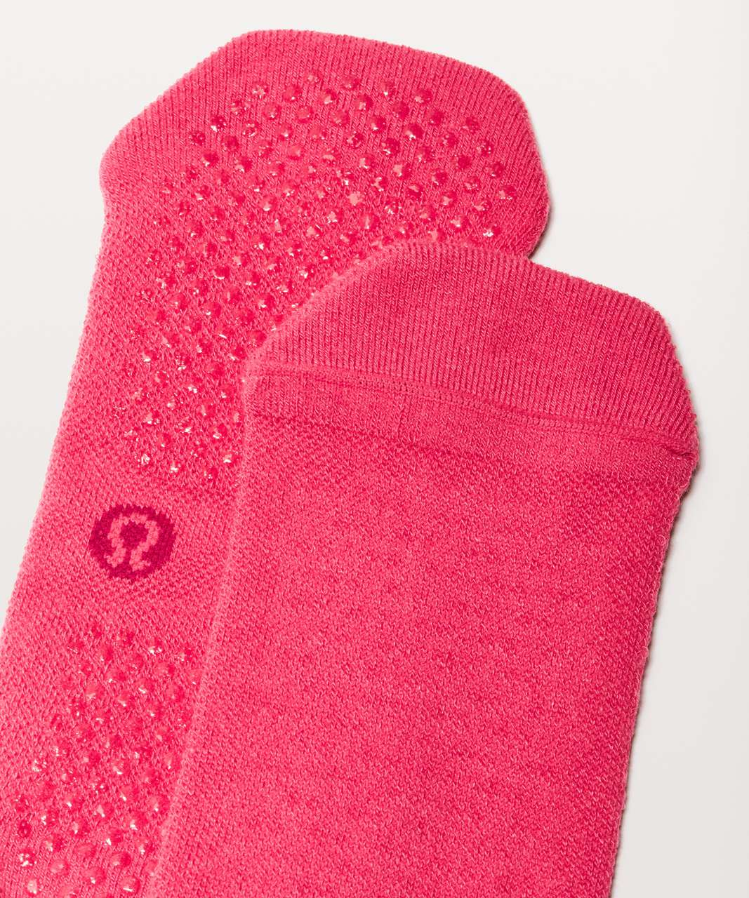 Lululemon Get A Grip Sock - Fuchsia Pink / Ruby Red