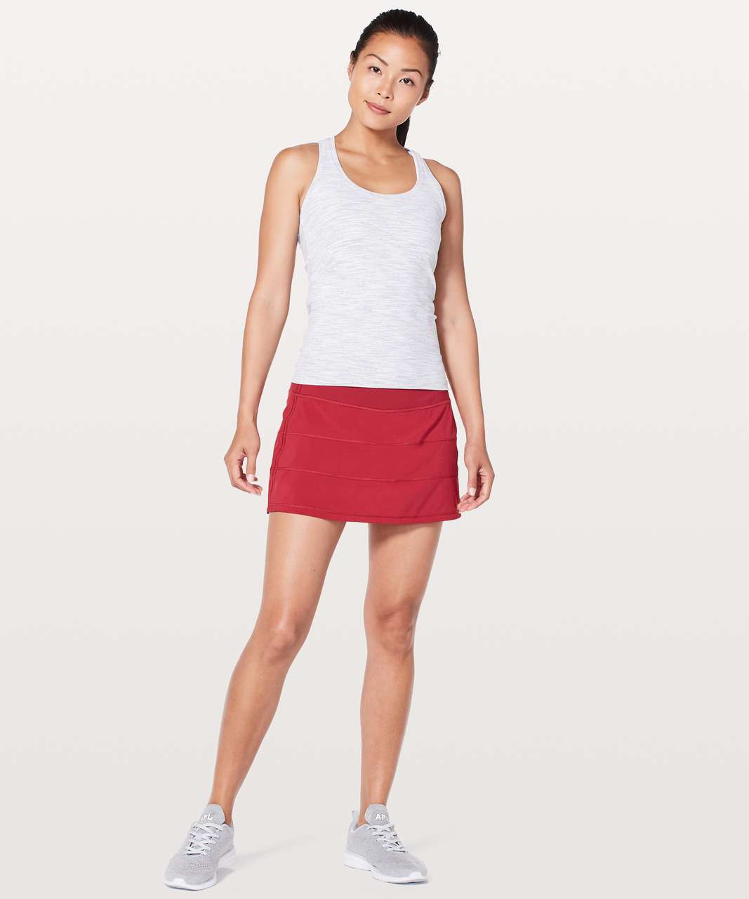 "Lululemon Pace Rival Skirt (Regular) *4-way Stretch 13"" - Scarlet"