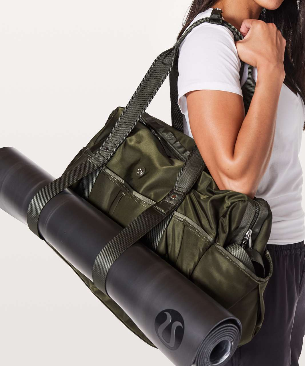 Lululemon All Day Duffel *Heatproof Pocket 31L - Dark Olive