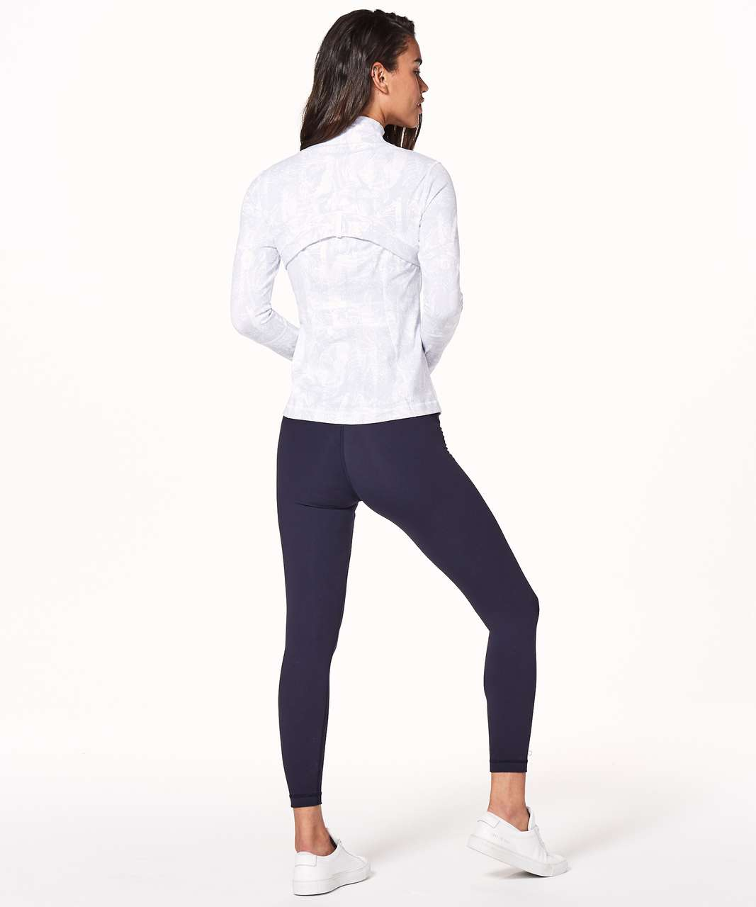 Lululemon Define Jacket - Eternal Wave White