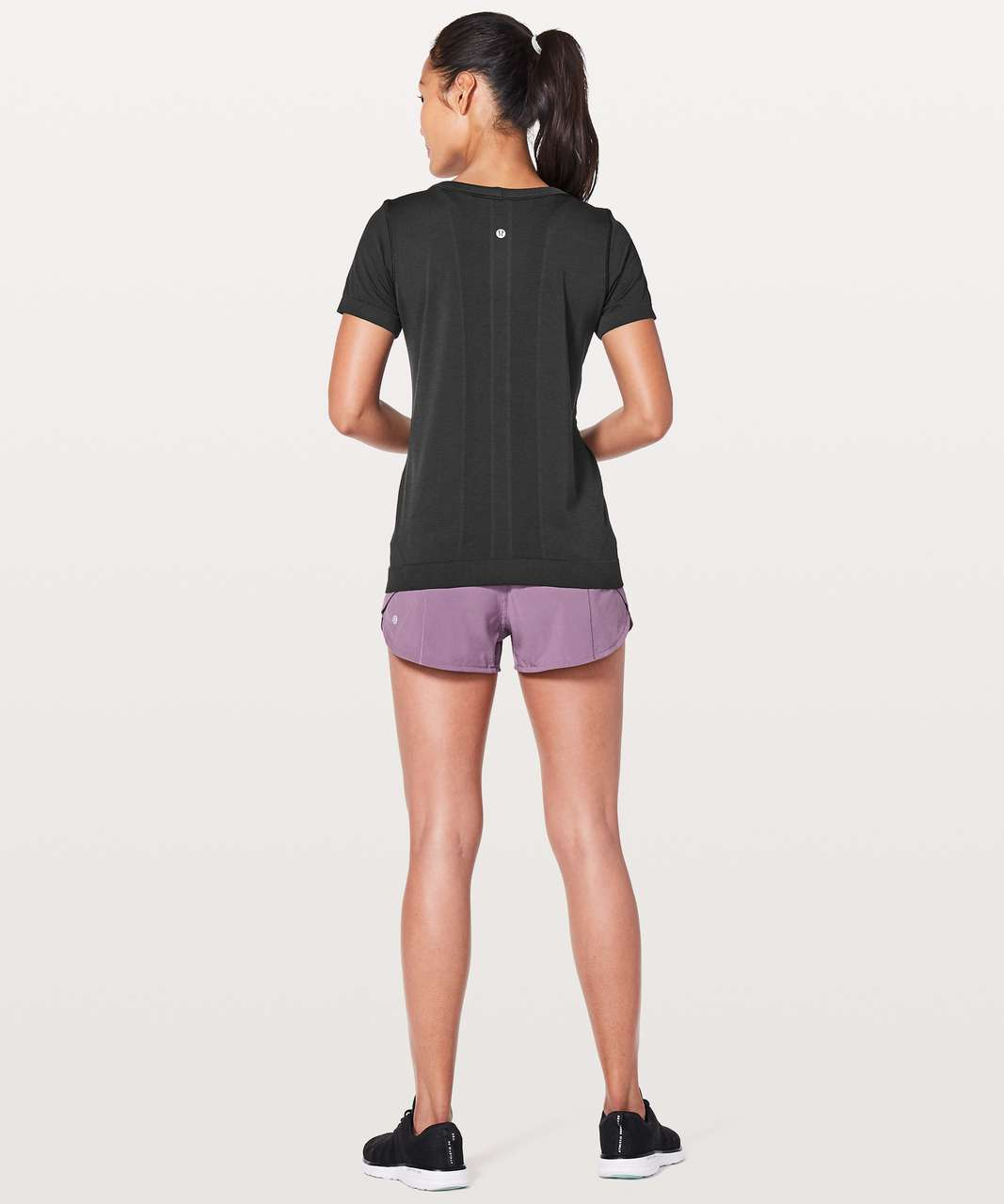 Lululemon Swiftly Tech Short Sleeve (Breeze) *Relaxed Fit - Black / Black (First Release)