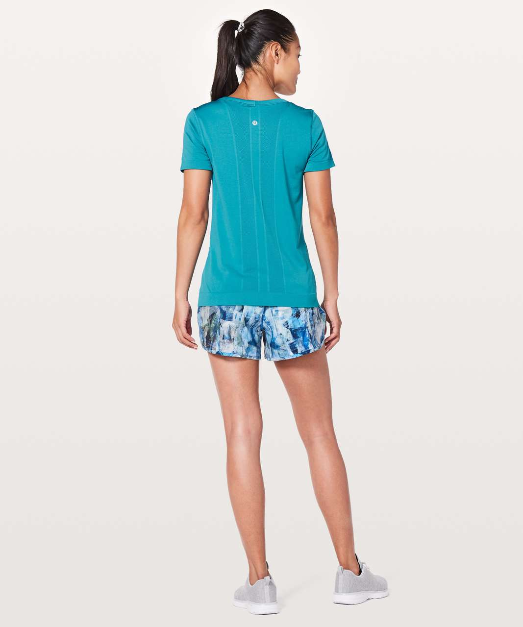 Lululemon Swiftly Tech Short Sleeve (Breeze) *Relaxed Fit - Teal Blue / Teal Blue