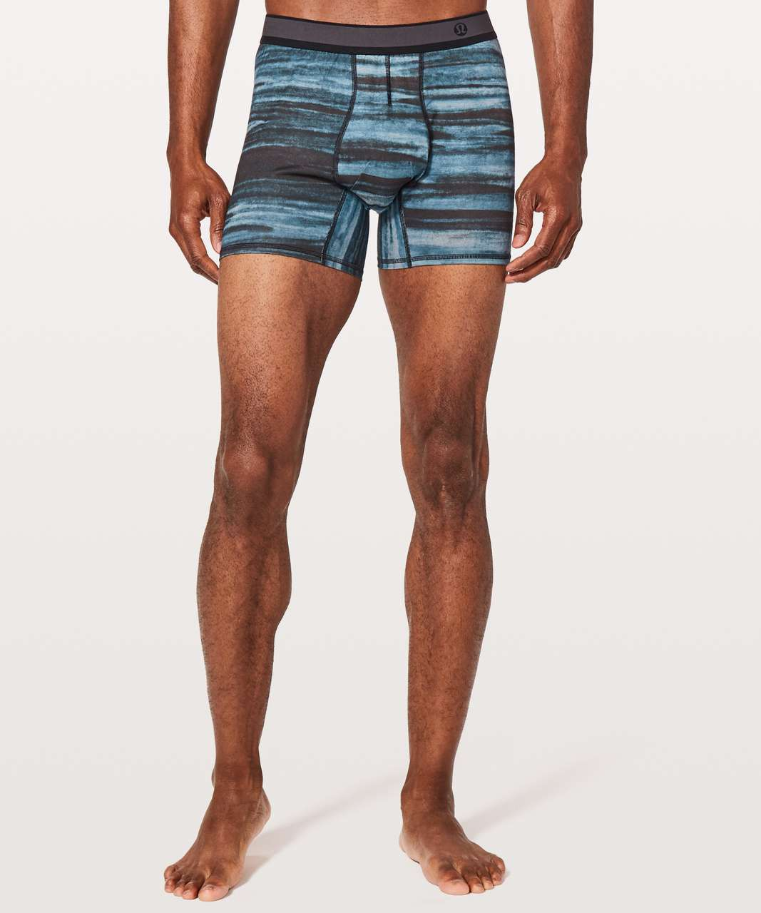 "Lululemon No Boxer Boxer *5.5"" - High Tide Multi"