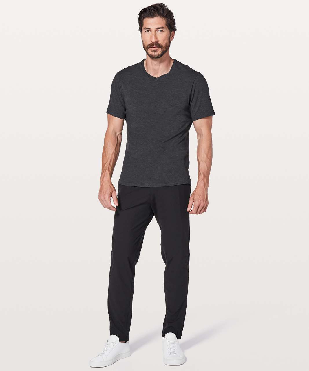 "Lululemon Commission Pant Slim *Warpstreme 32"" - Black"