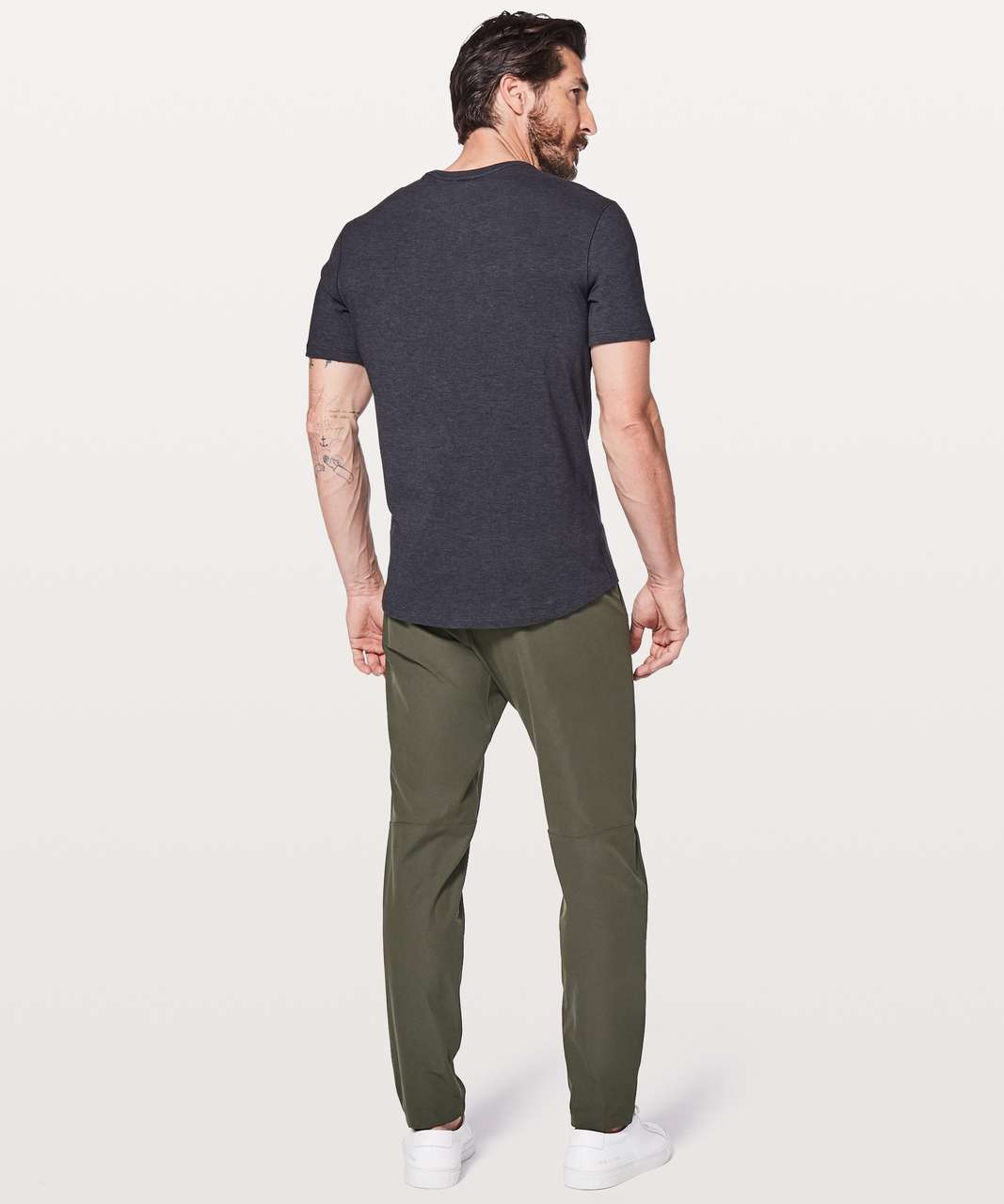 "Lululemon Commission Pant Slim *Warpstreme 32"" - Dark Olive"