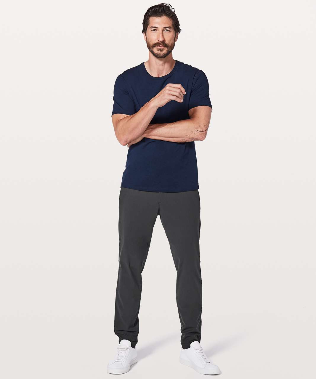 "Lululemon Commission Pant Slim *Warpstreme 32"" - Obsidian"