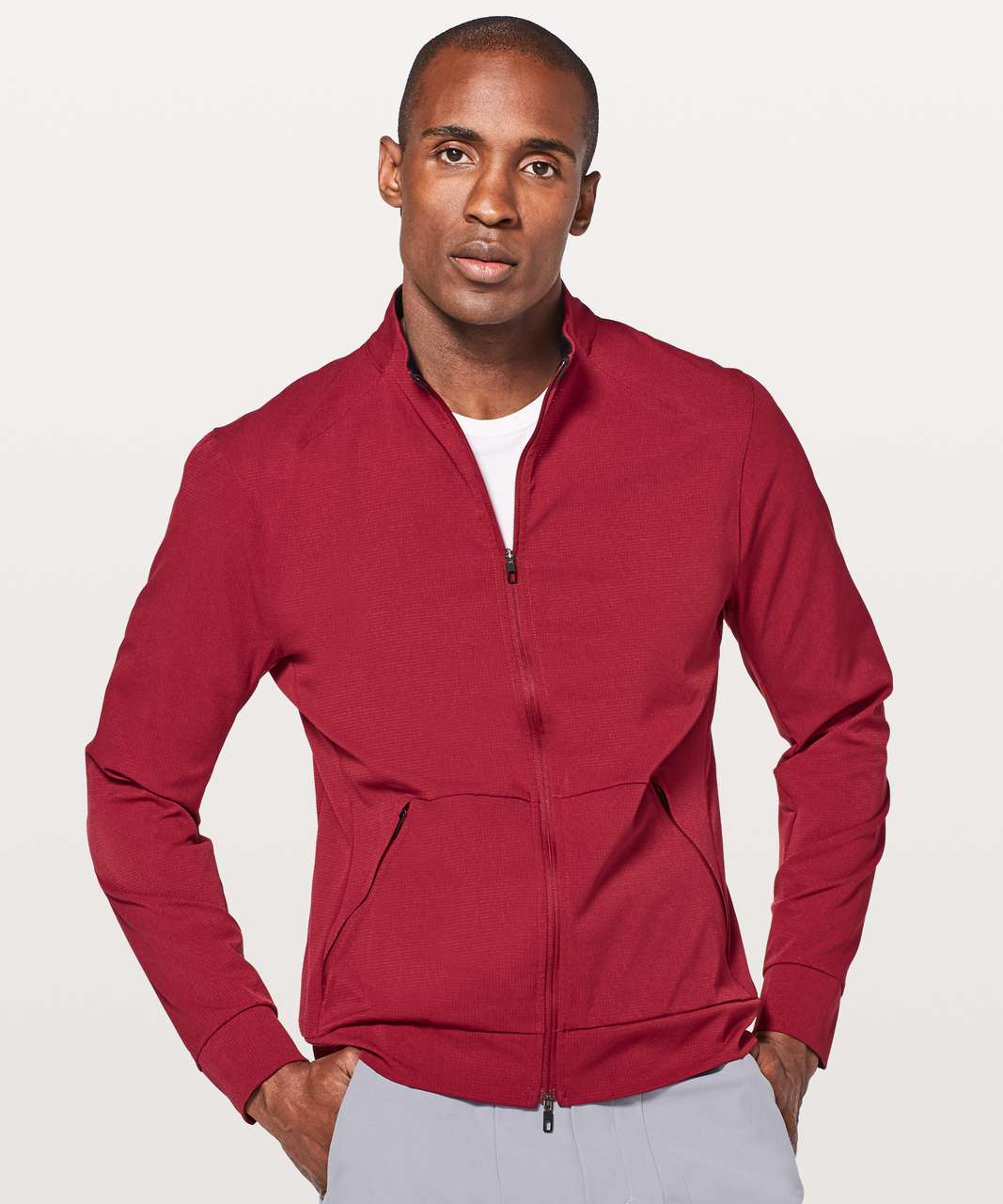 Lululemon Airing Easy Jacket - Oxblood