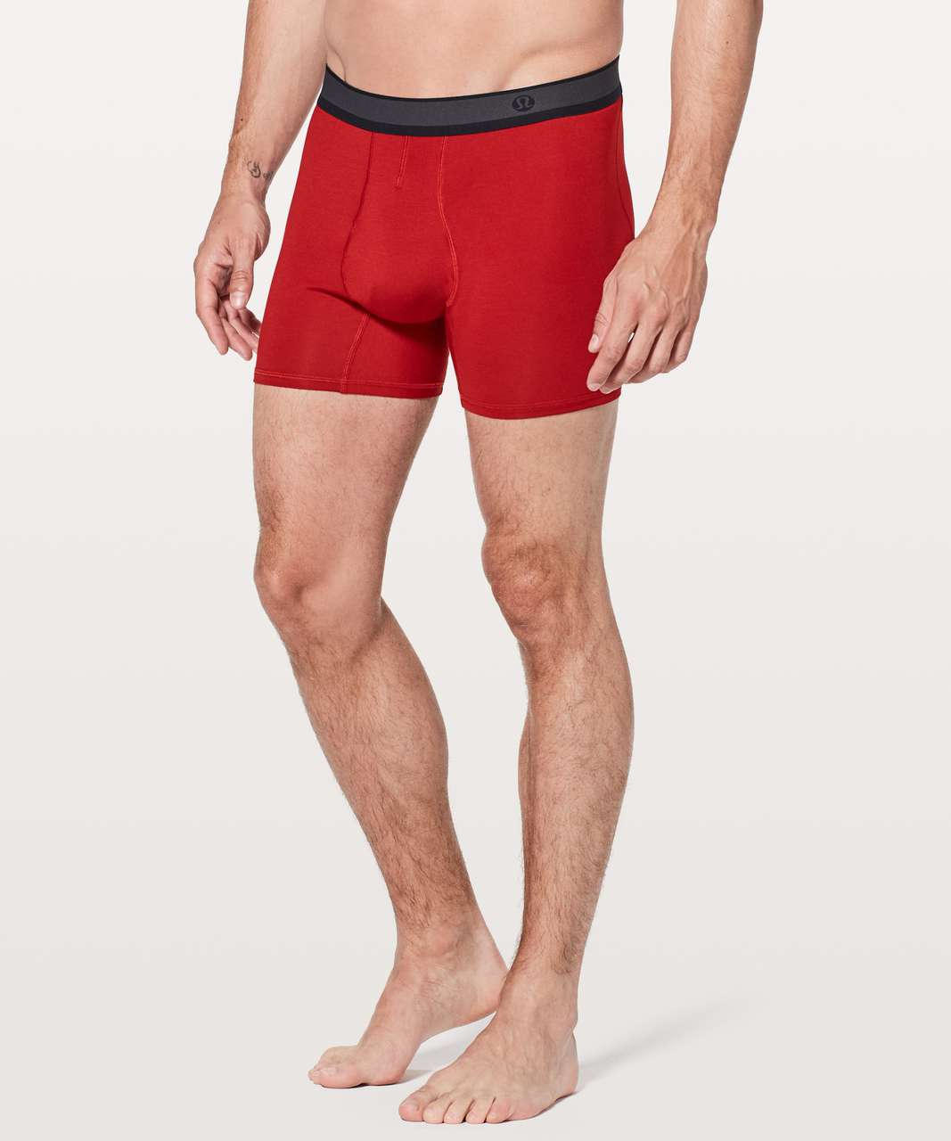 "Lululemon No Boxer Boxer *5.5"" - Game Day Red"