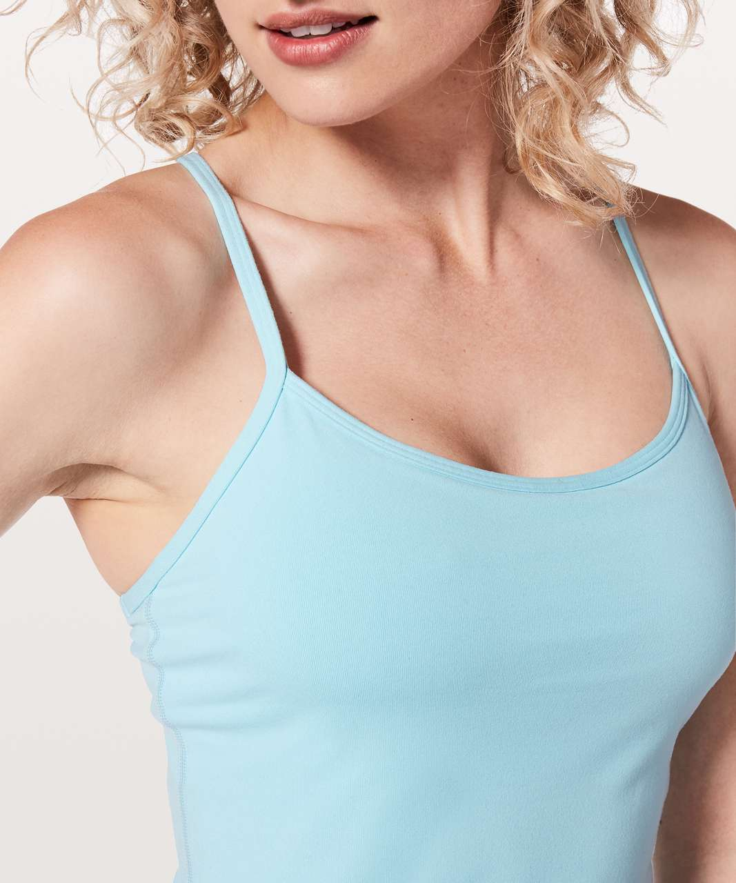 Lululemon Power Y Tank *Luon - Blue Glow