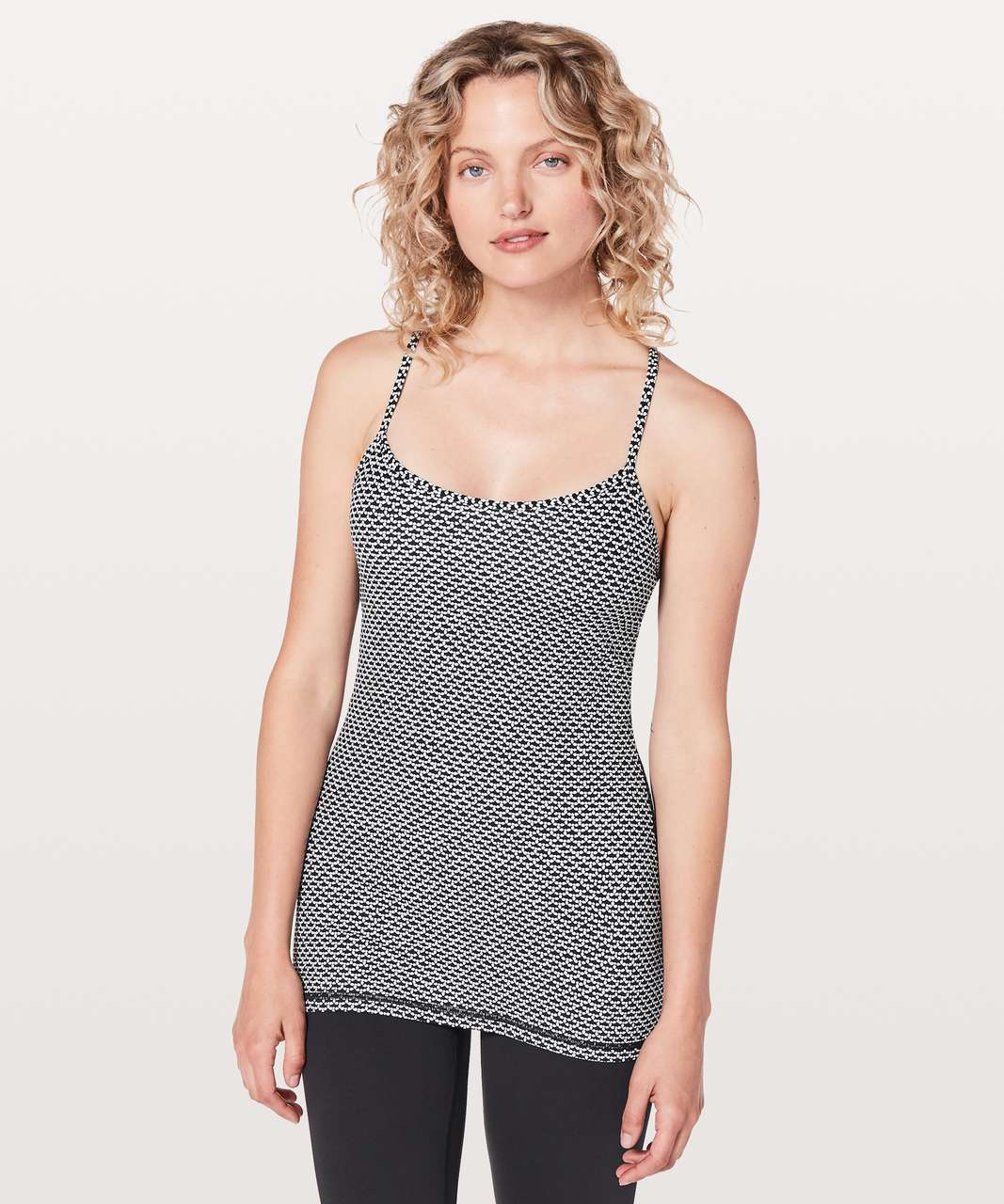 b339a0eecacce Lululemon Power Y Tank  Luon - Monochromic Black - lulu fanatics