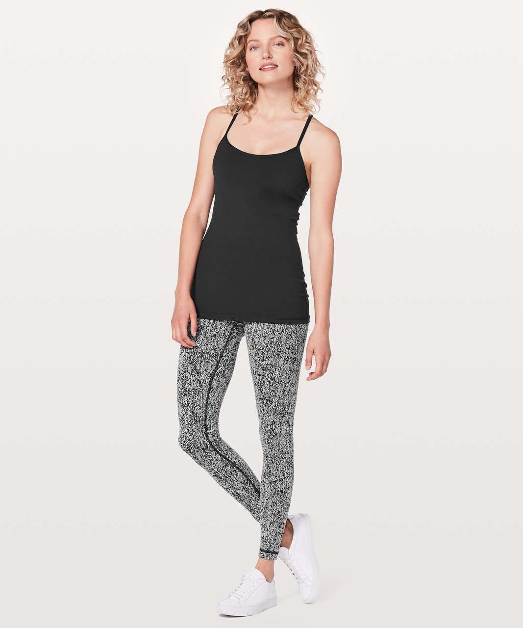 Lululemon Power Y Tank *Luon - Black (Third Release)