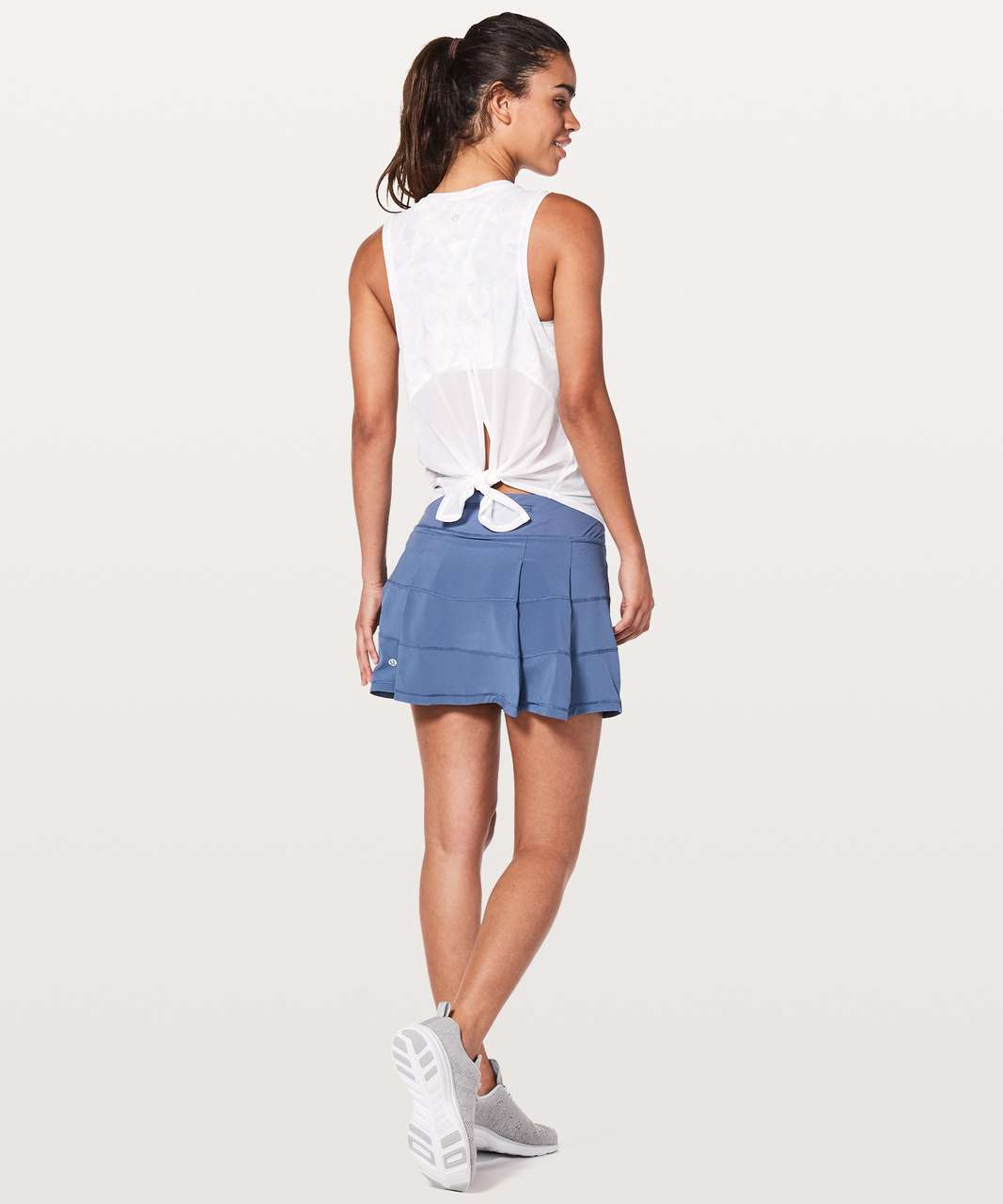 """Lululemon Pace Rival Skirt (Tall) *4-way Stretch 15"""" - Brilliant Blue"""