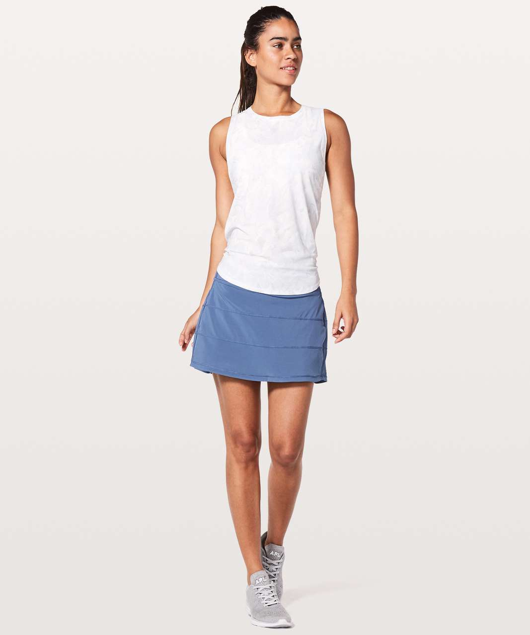 "Lululemon Pace Rival Skirt (Tall) *4-way Stretch 15"" - Brilliant Blue"