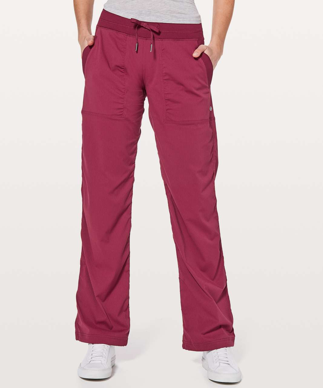 "Lululemon Dance Studio Pant III (Regular) *Unlined 32"" - Ruby Wine"