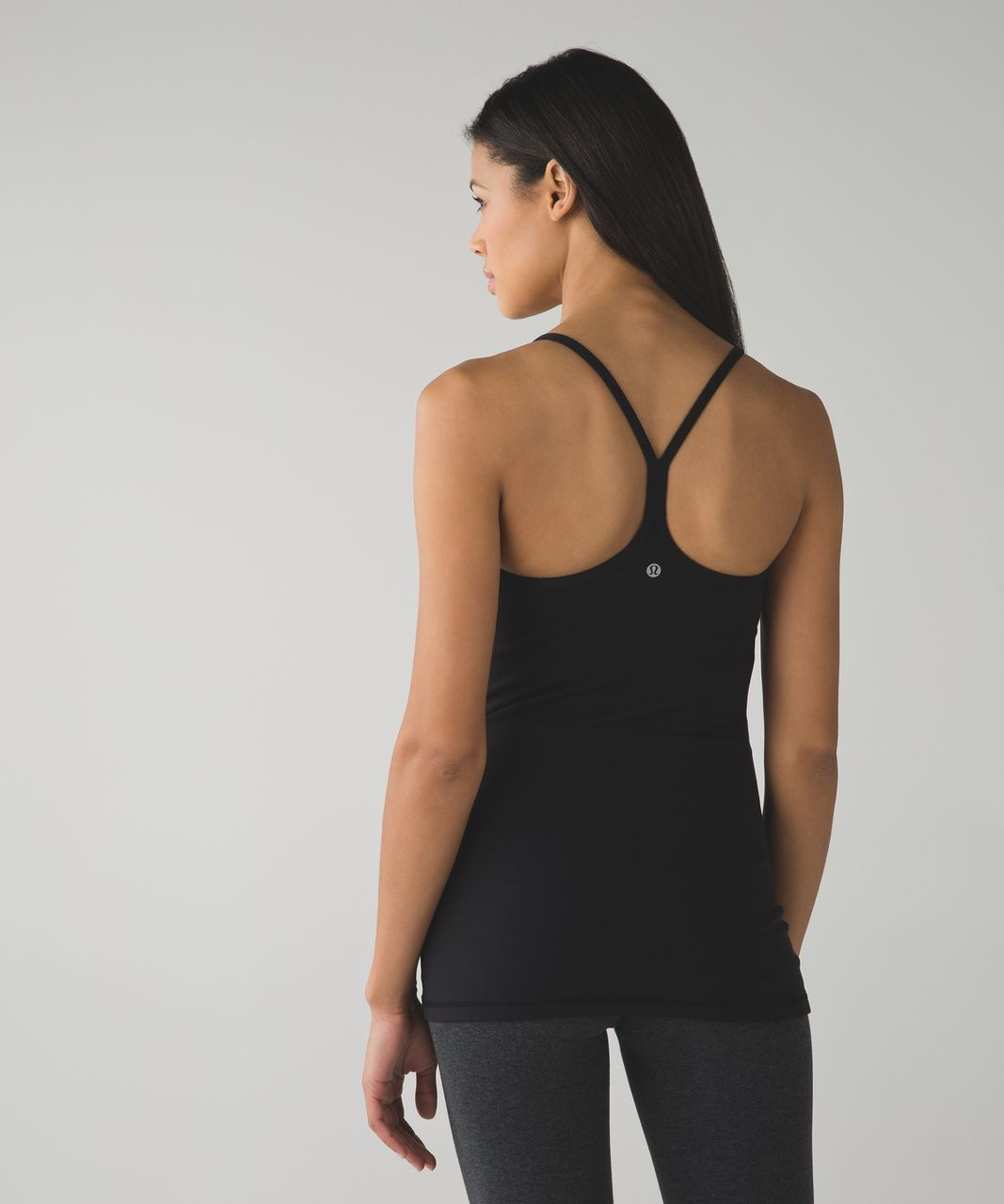 Lululemon Power Y Tank *Luon - Black (Second Release)