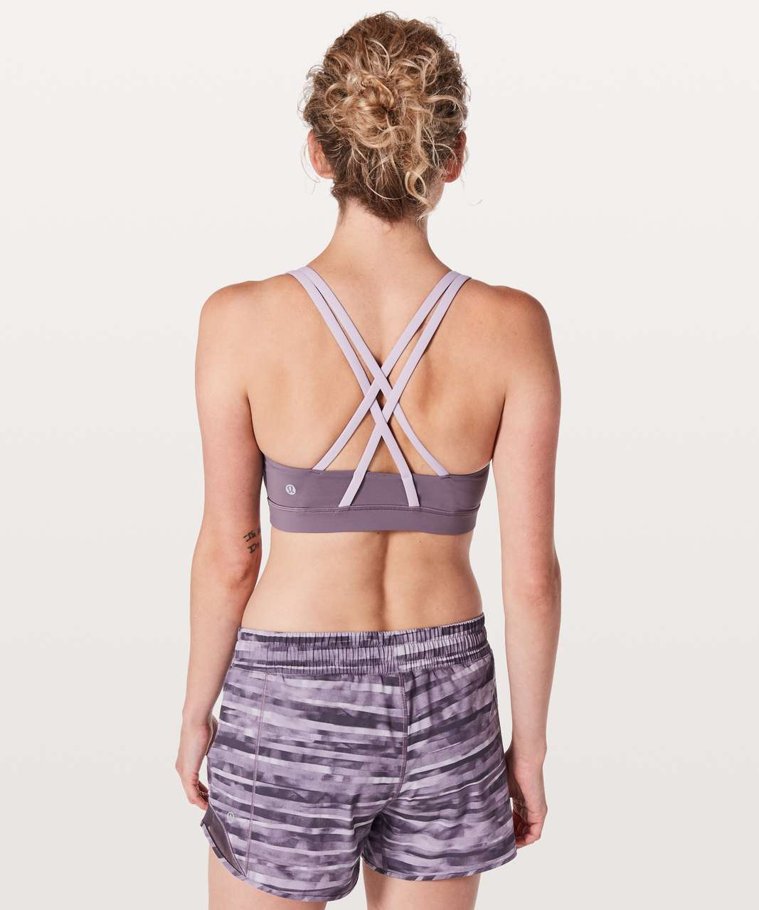 Lululemon Energy Bra - Smoked Mulberry / Violetta