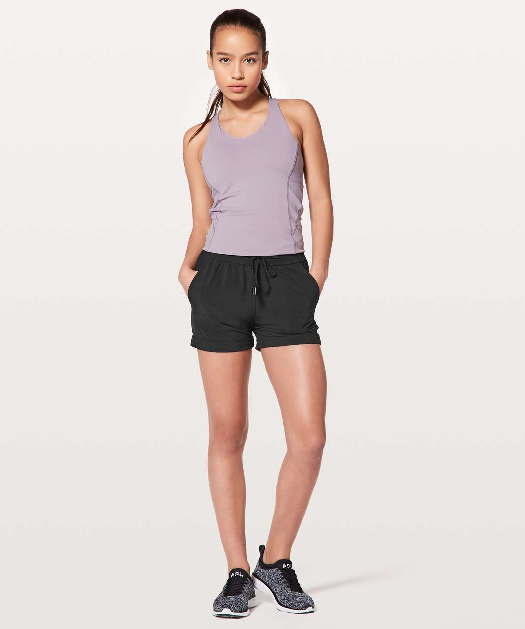 "Lululemon Spring Break Away Short *4-way Stretch 3"" - Black (First Release)"