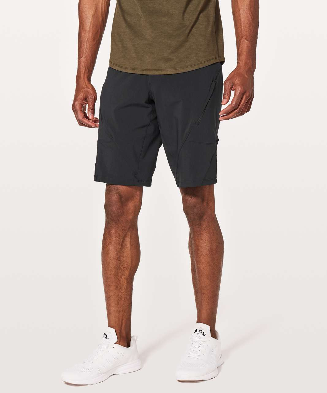 "Lululemon Mountain Side Shorts *11"" - Black"