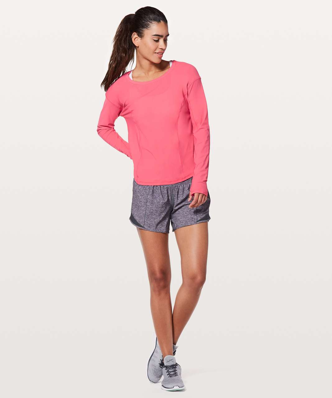 Lululemon On Pace Long Sleeve - Glossy
